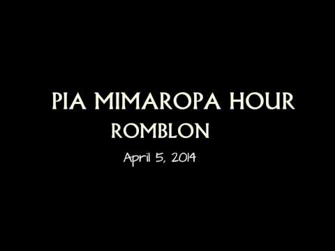 [ROMBLON] Episode 13 PIA MIMAROPA HOUR