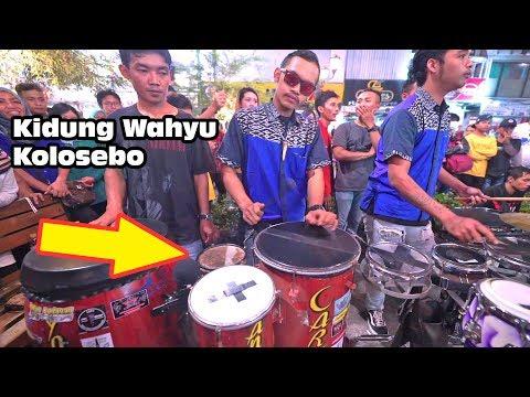 permainan ala kendang rampak jaipong dgn bass selo by pras carehal kidung wahyu kolosebo angklung