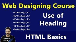 4. HTML में Heading का Use