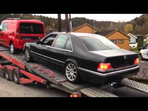 mercedes benz s class w140 s500 last trip youtube. Black Bedroom Furniture Sets. Home Design Ideas