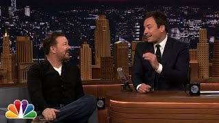 During Commercial Break: Ricky Gervais