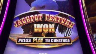 Buffalo Grand **BIG WIN** Slot Machines - Caesars, Las Vegas
