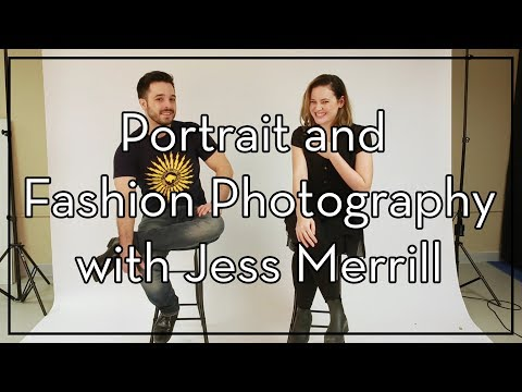 Portrait and Fashion Photographer Jess Merrill