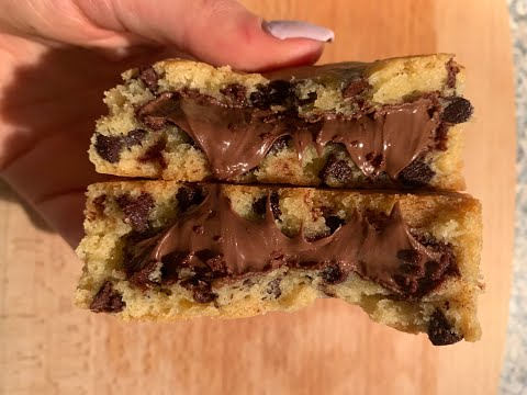 recette-cookies-coeur-coulant-nutella