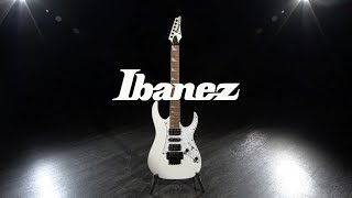 Ibanez RG350DXZ 2018, White | Gear4music demo