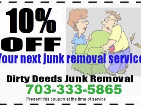 Junk Removal Alexandria VA | Hauling & Trash Removal 703-333-5865