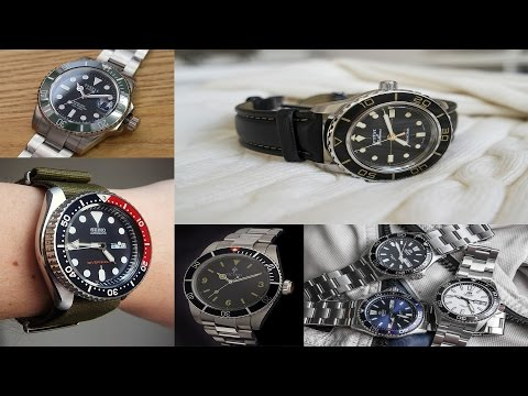 Top 5 Dive Watches under $300 | Seiko SKX007, Tisell Marine Diver, Orient Mako USA II