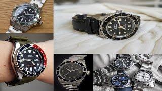 Top 5 Dive Watches under $300 | Seiko SKX007, Tisell Marine Diver, Orient Mako USA II