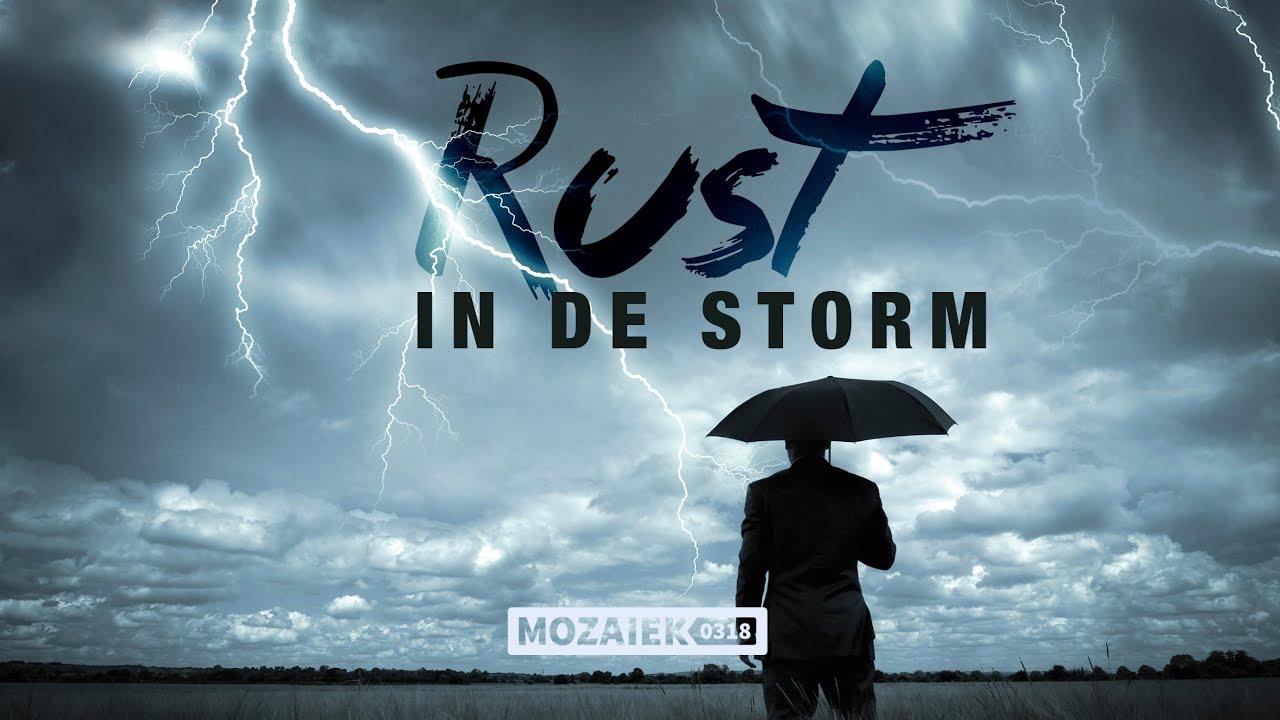 Preek: Rust in de Storm - Michelle van Dusseldorp