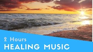 Healing Music & Zen Meditation Music for the soul, body, brain, heart and sleep (2 Hours)