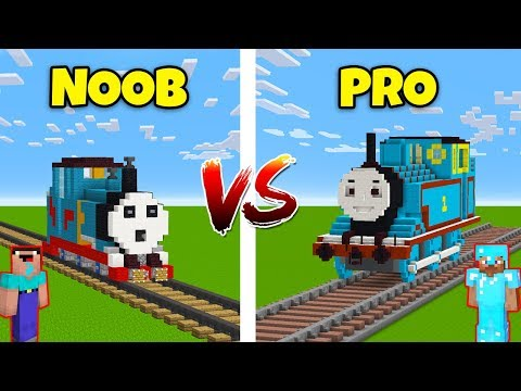 Minecraft NOOB vs. PRO: THOMAS THE TRAIN in Minecraft! AVM SHORTS Animation