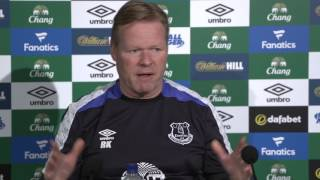 Ronald Koeman Pre-Burnley Press Conference