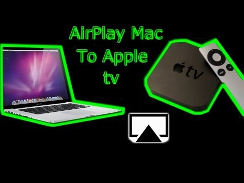 How To Airplay Mac To Apple tv - MacBook Pro, Macbook Air, iMac, MacMini,MacPro