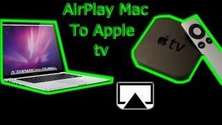 How To Airplay Mac To Apple tv - MacBook Pro, Macbook Air, iMac, MacMini,MacPro