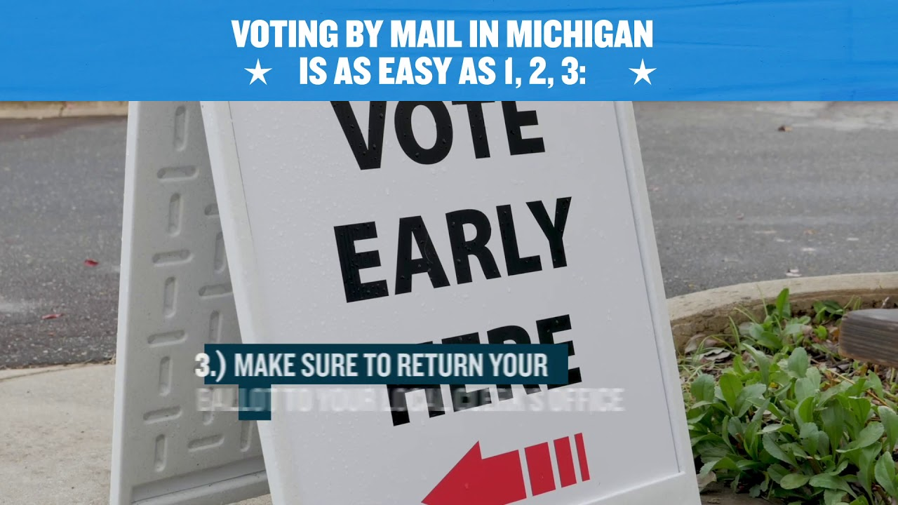 How to Submit a Ballot in Michigan 2020 NRDC Action Fund