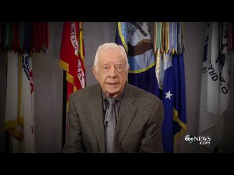 Jimmy Carter Sends Video Message to the DNC | ABC News