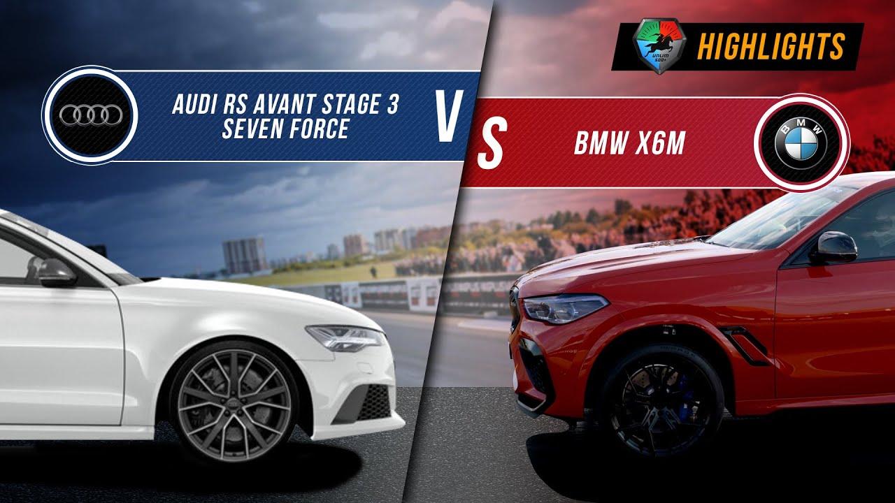 Audi RS6 St.3 vs BMW X6M | UNLIM 500+ 2020 Highlight |