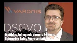 Matthias Schmauch, Varonis, über den Datenschutz in Zeiten von Office 365 & Co
