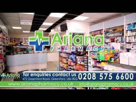 Ariana Pharmacy-  London Dari
