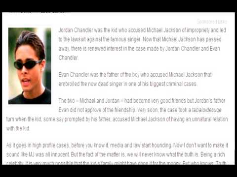 the best attitude really cheap crazy price !!JORDAN CHANDLER ADMITS HE LIED ABOUT MICHAEL JACKSON MOLESTING HIM!!7/7/09