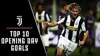 TOP 10 JUVENTUS OPENING DAY GOALS