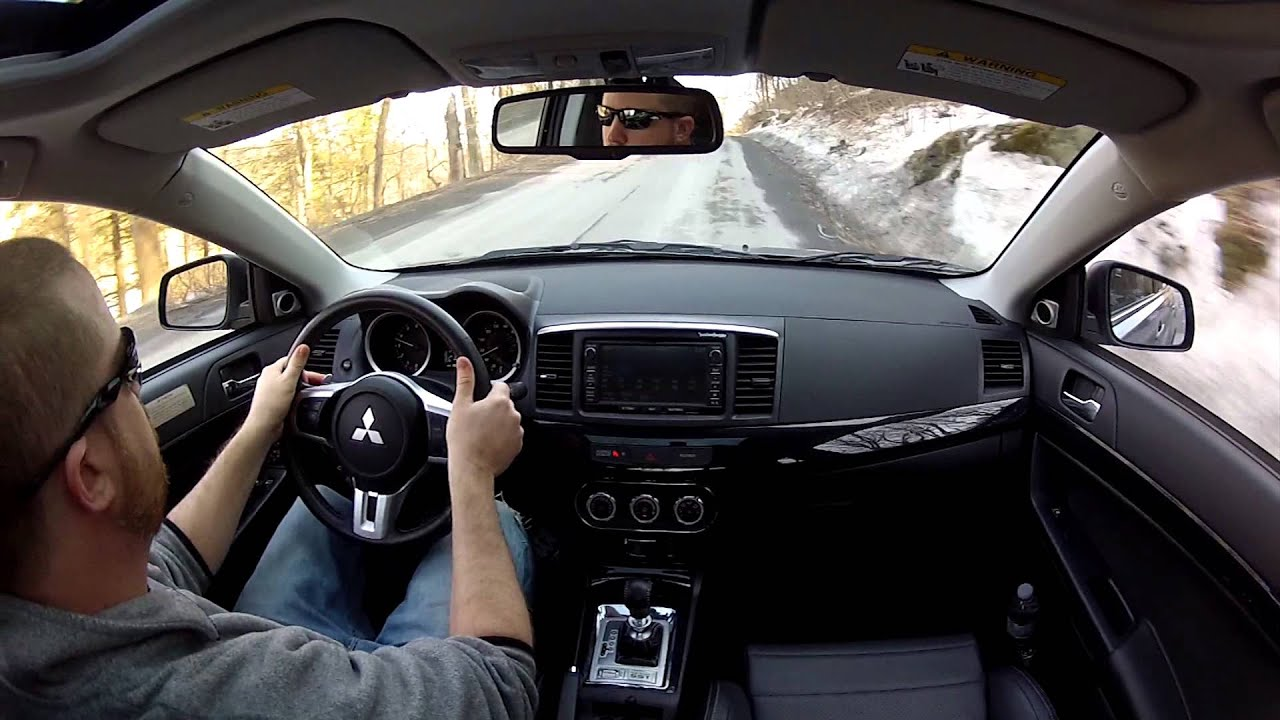 2014 Mitsubishi Lancer Evolution - TestDriveNow.com Review with ...