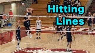 Hitting Lines - BYU vs Stanford Men