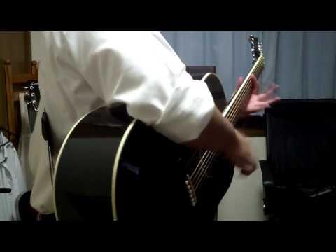 アコギ・ボディスラム奏法説明   by a.c.c.r.TV