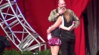 Military Dad Surprises Cheerleader Daughter