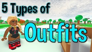 5 Types of ROBLOX Outfits