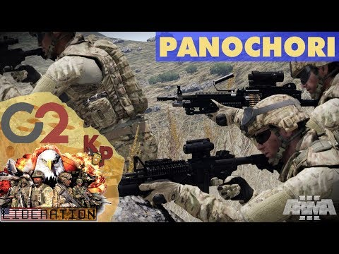 PANOCHORI - LIBERATION ALTIS WITH C2 [Part 22]: Large Scale Arma 3