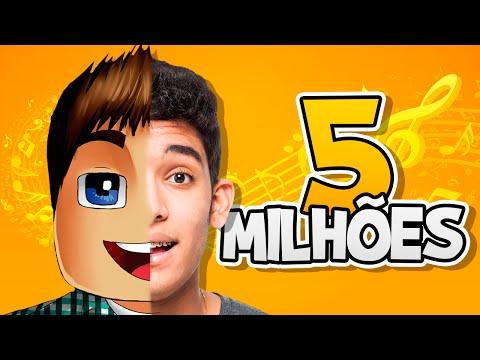♫ RAP ESPECIAL DE 5 MILHÕES DE INSCRITOS !! (feat.7Minutoz)