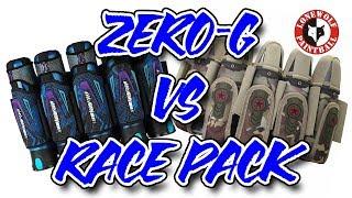 HK Army Zero-G vs GI Sportz Race Pack Paintball Harness Comparison   Lone Wolf Paintball Michigan
