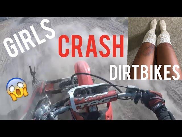 Riding Dirty At Gorman- CRASH THAT BADLY BRUISED MY LEGS