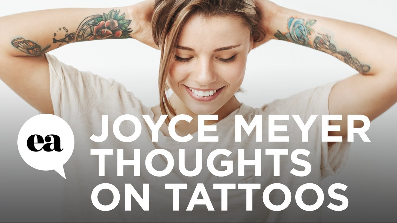 Joyce Meyer Defends Tattoos, Says She Might Get One to Make