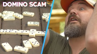 A Domino Scam Anyone Can Do | Scam Nation