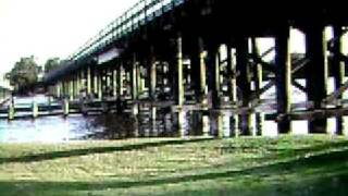 500 Year Old Jarrah Lumber Garrat Bridge Perth Western Australia