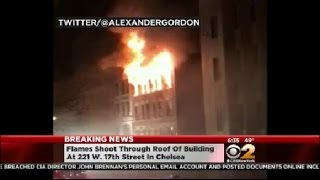 5-Alarm Fire In Chelsea