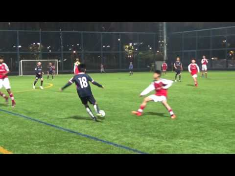20170309 Kitchee U13 vs South China Friendly Match Second Half