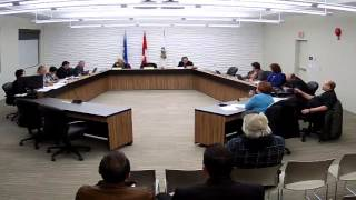 Town of Drumheller Council Meeting February 8, 2016