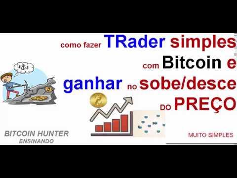 Como Ganhar na Alta e Baixa do Bitcoin | faça Trader simples, com sua carteira