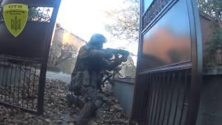 Видео реального боя в районе Донецкого аэропорта