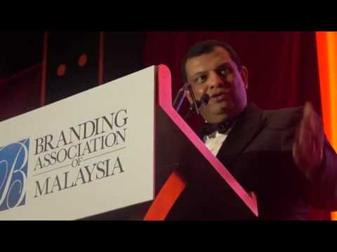 Tan Sri Dr Tony Fernandes Honorary Speech @ Branding Association of Malaysia Gala 2018