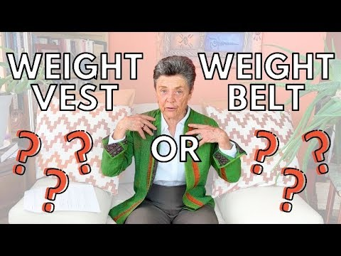 Weighted Vest Vs Weighted Belt For Osteoporosis