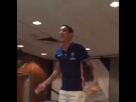 After leaving Man United, Angel Di Maria completes PSG initiation