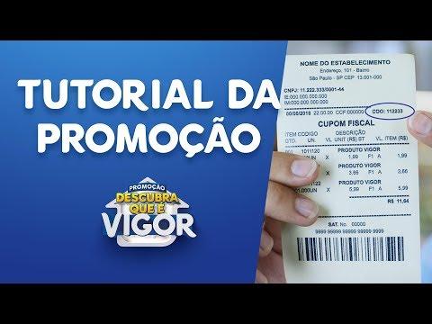 VIGOR - Tutorial Para Cadastro Na Promoção
