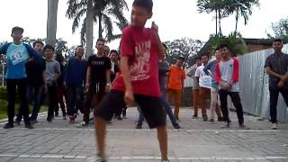 DougieSwag Medan freestyle session part 1