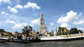 Тайланд: Бангкок -  бесплатная еда у сикхов, прогулка по реке (28.04.19 - путешествие в Индонезию) / Видео