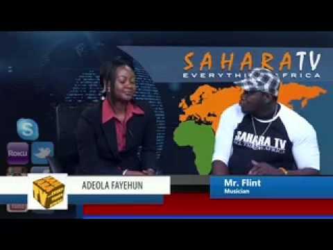 SaharaTV interviews Mr. Flint