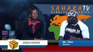 SaharaTV interviews Mr. Flint